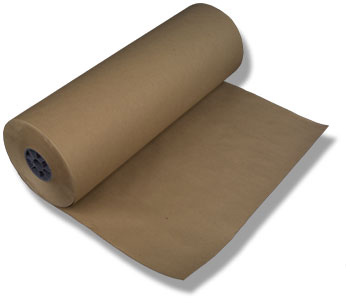 Plain brown paper.
